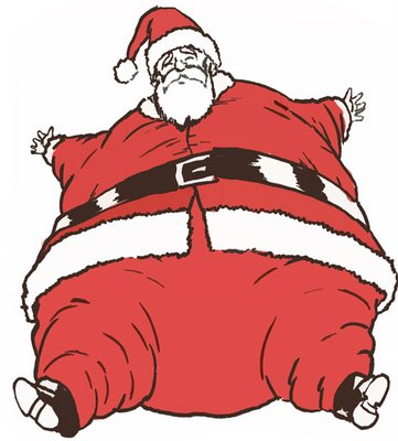 Image result for fat santa