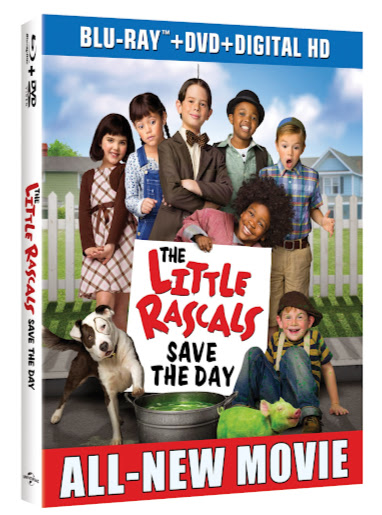 Great Kids DVDs: The Little Rascals Save the Day