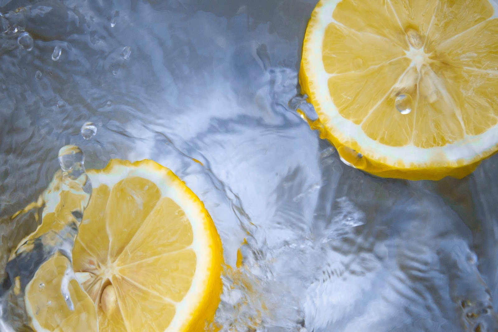 Lemons are a good source of Vitamin C.