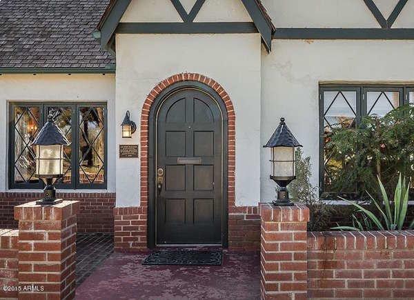 Single Arched Door