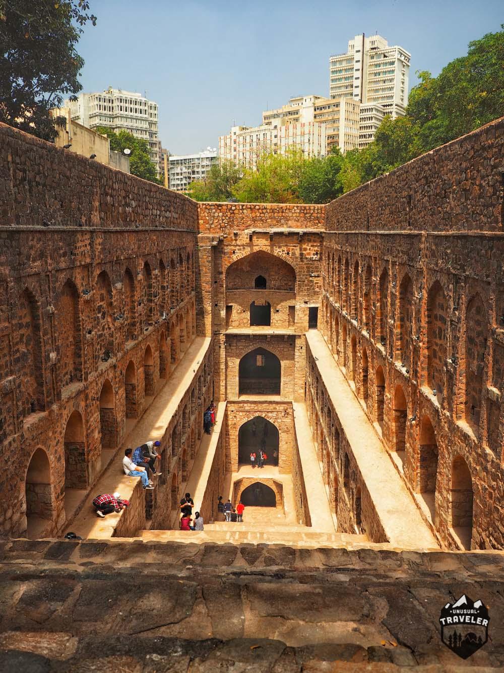 Agrasen ki Baoli new delhi
