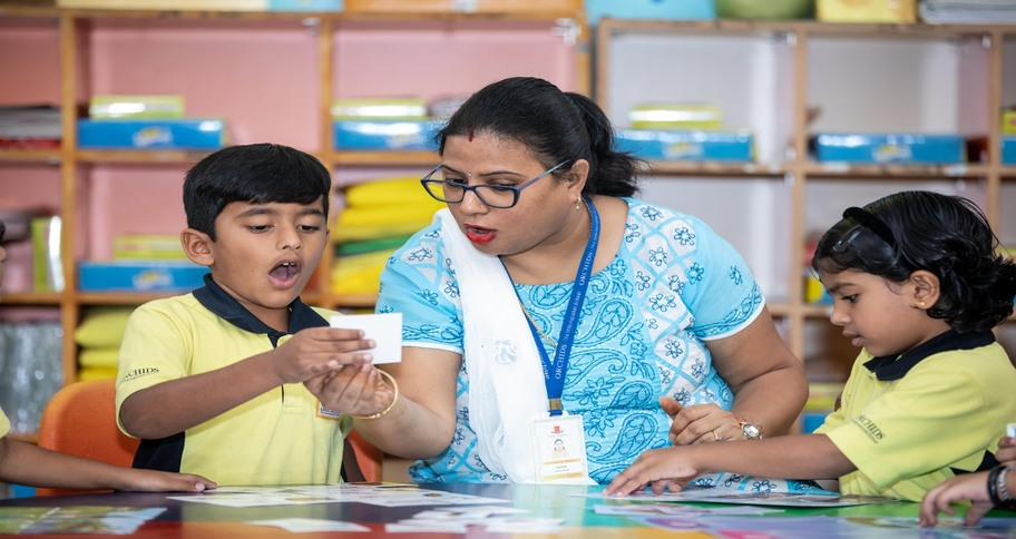 Teaching methodology also means providing personal attention to introverted students