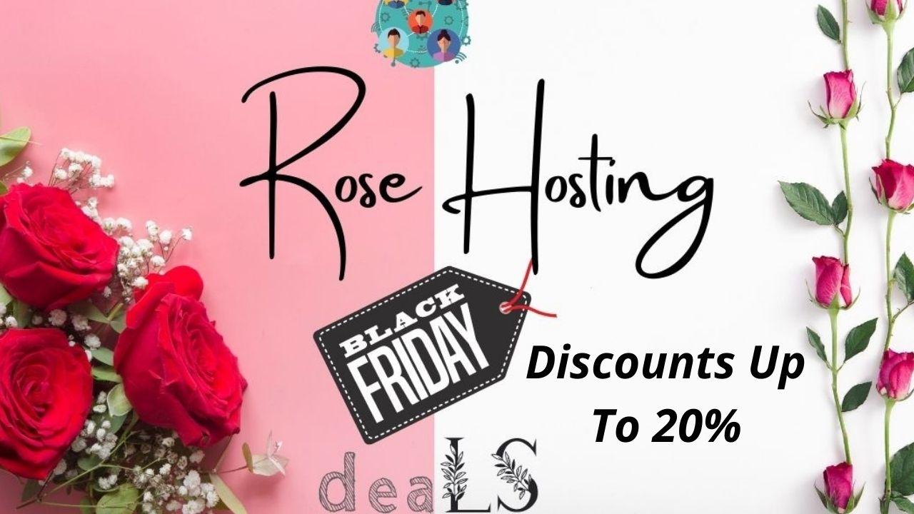 RoseHosting: Get Up To 20% Off