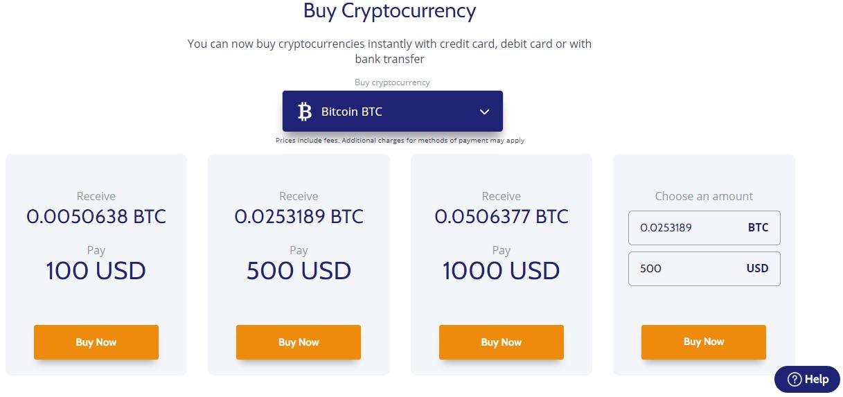Coinmama Plattform