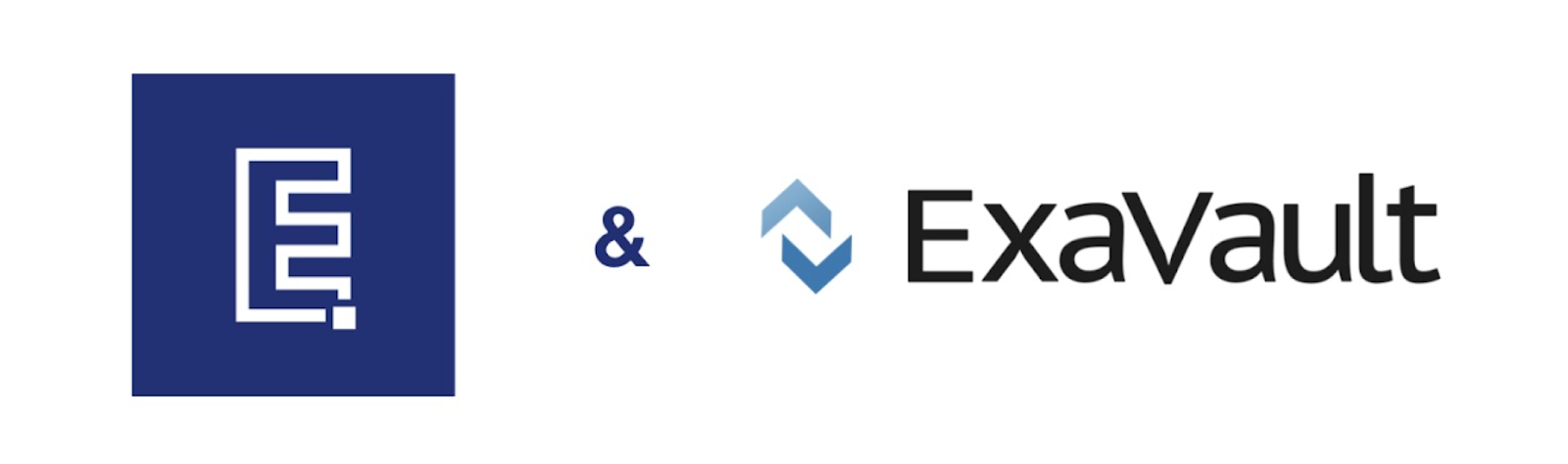 Excelify and ExaVault logos
