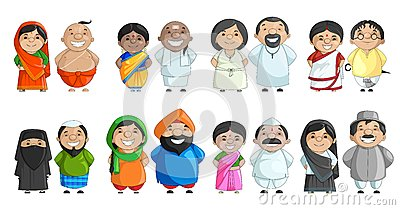 indian-couple-different-culture-vector-illustration-31471464.jpg