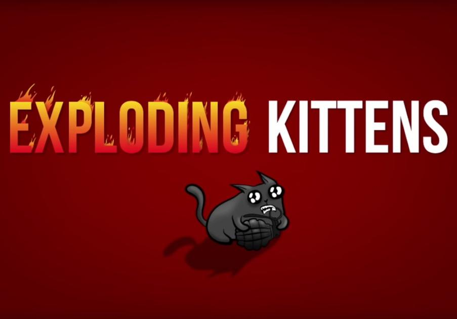 Exploding kittens best Iphone game of 2020