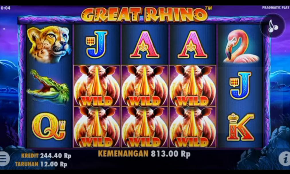 Game Judi Slot Online Great Rhino