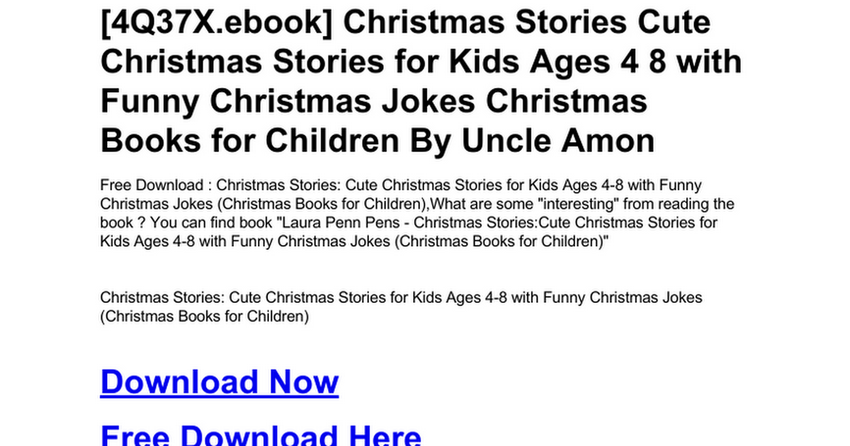 christmas-stories-cute-christmas-stories-for-kids-ages-4-8-with ...