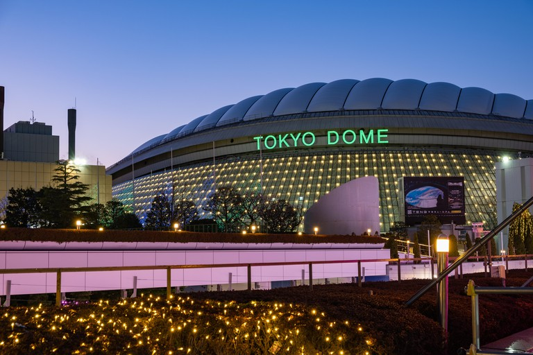 In addition to baseball games, the Tokyo Dome also hosts concerts and other events