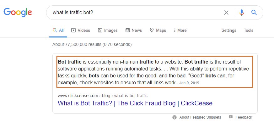 what is a traffic bot