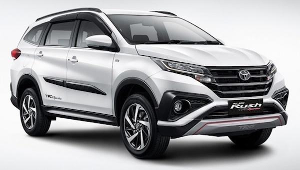 มินิ Fortuner Toyota Rush 2018 เปิดตัวที่อินโดนีเซีย มา