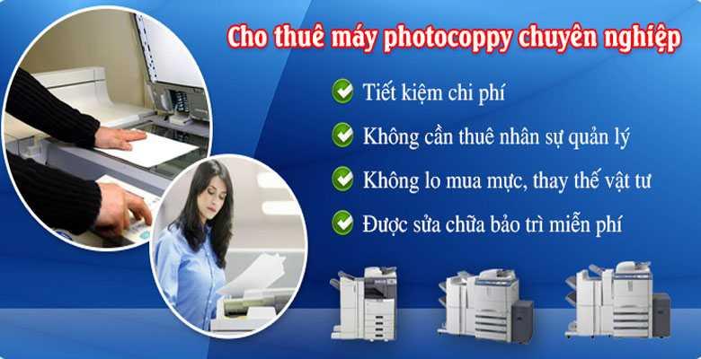 Tìm hiểu quy trình thuê máy photocopy