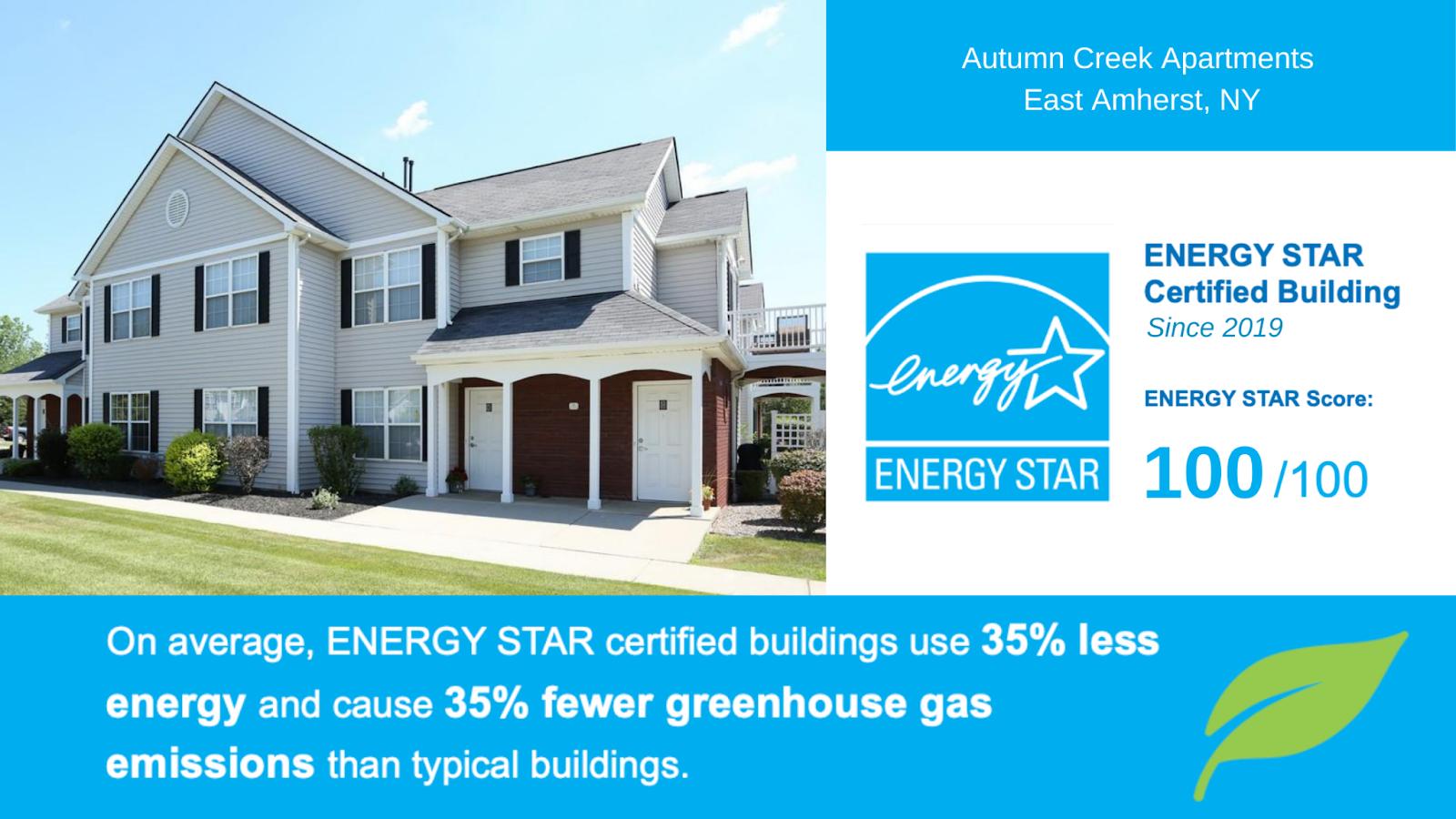 Autumn Creek Earns 2021 ENERGY STAR Certification-image