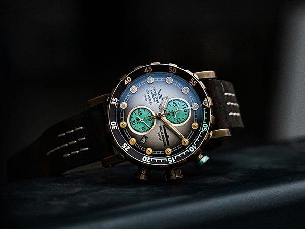 Edycja specjalna zegarka Vostok Europe SSN 571 Benediktas Vanagas na start kolekcji