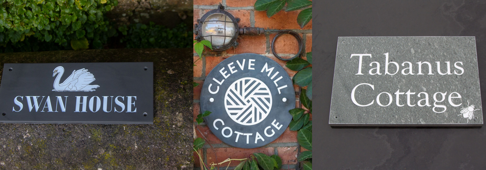 Stone signs are an excellent choice for holiday accommodation providers because they are long lasting and maintenance free.