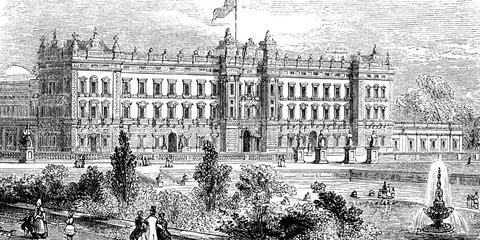 Букингемский дворец История