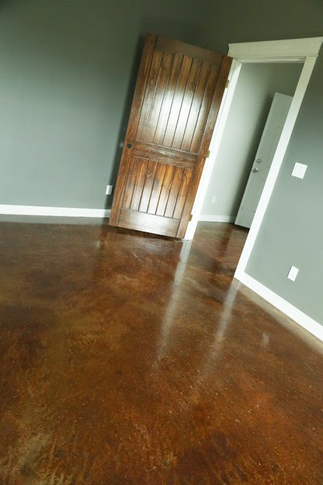 Staining And Finishing Concrete Floors Ana White