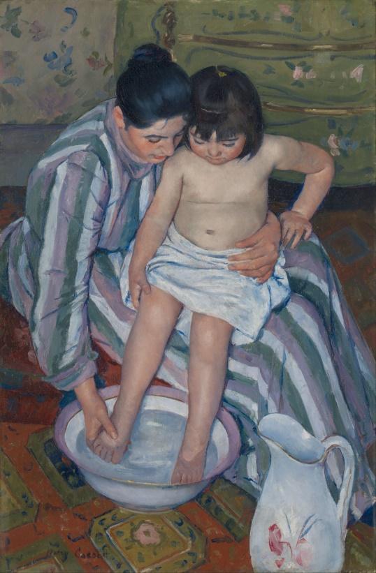 2 Mary_Cassatt_-_The_Child's_Bath1893