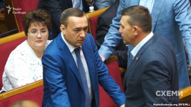 Колишній народний депутат Микола Мартиненко