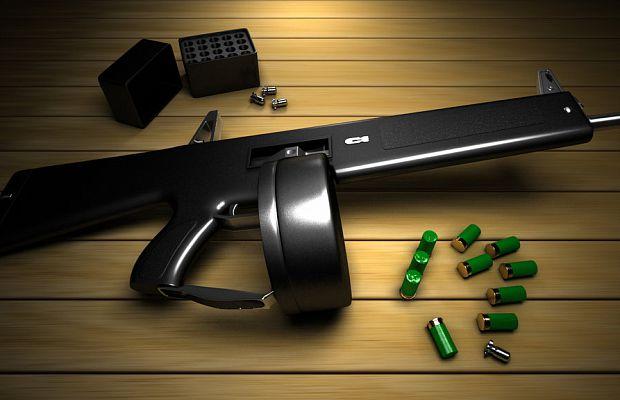 AA12 Atchisson— автоматический дробовик, который способен стрелять соскоростью 300 выстрелов вминуту. Ктомуже, посравнению сдругими дробовиками, унего значительно уменьшена отдача.