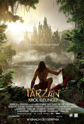 Polski plakat filmu 'Tarzan. Król Dżungli'