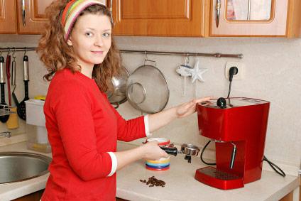 Самостоятельное приготовление кофе