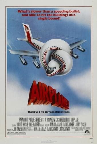 "Amazon.com: Airplane Movie Poster 24""x36"": Prints: Posters & Prints"