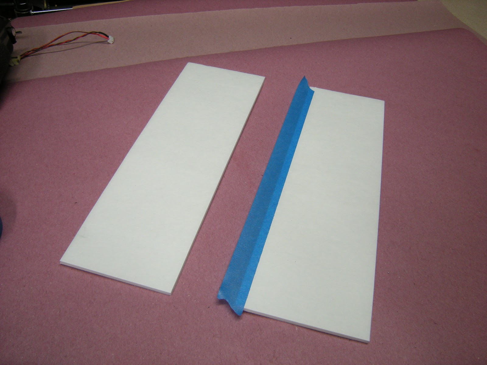 How to join foam interfacing