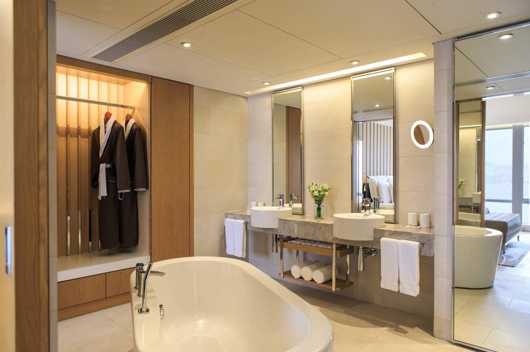 豪華套房浴室景