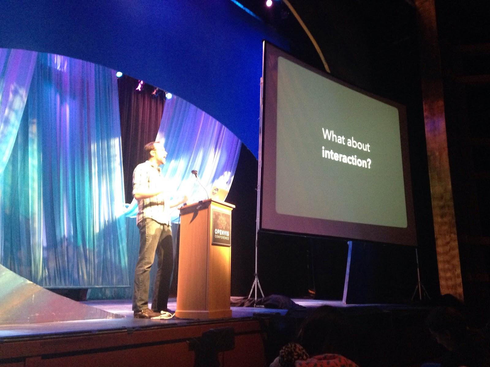 OpenVisConf: Keynote by Jeffrey Heer