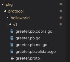 Generating .go files