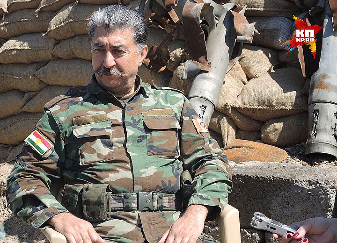 Генерал пешмерга Хусейн Язданпана (вылитый Сталин!). Фото: Дарья АСЛАМОВА