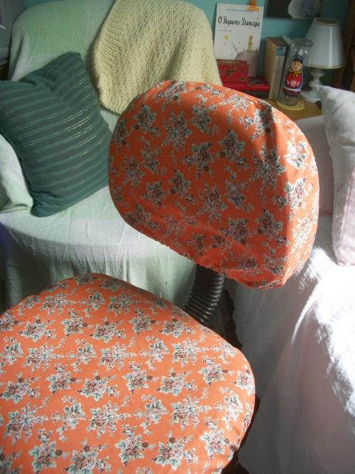 Capa de tecido para cadeira