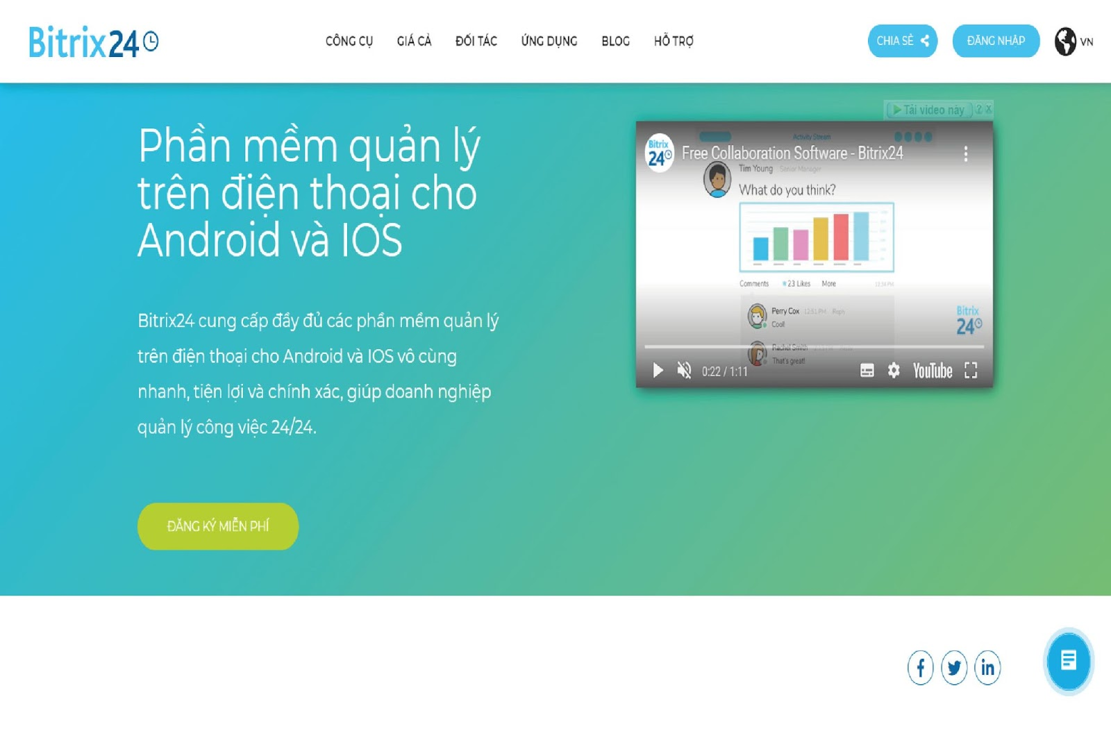 Bitrix24 - App quản lý nhân viên hiệu quả cho doanh nghiệp