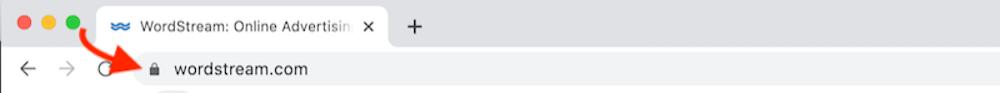 http và https khóa trong thanh địa chỉ