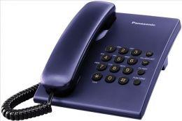 Panasonic - jednolinkový telefon modrý