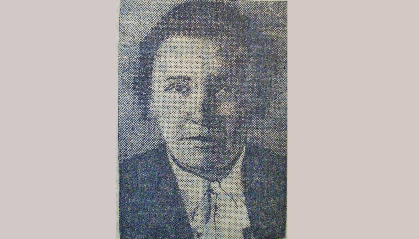 Секретар Дзержинського райкому Левкович. Злетить з посади у 1935-му за дикий безлад у справі видачі партквитків
