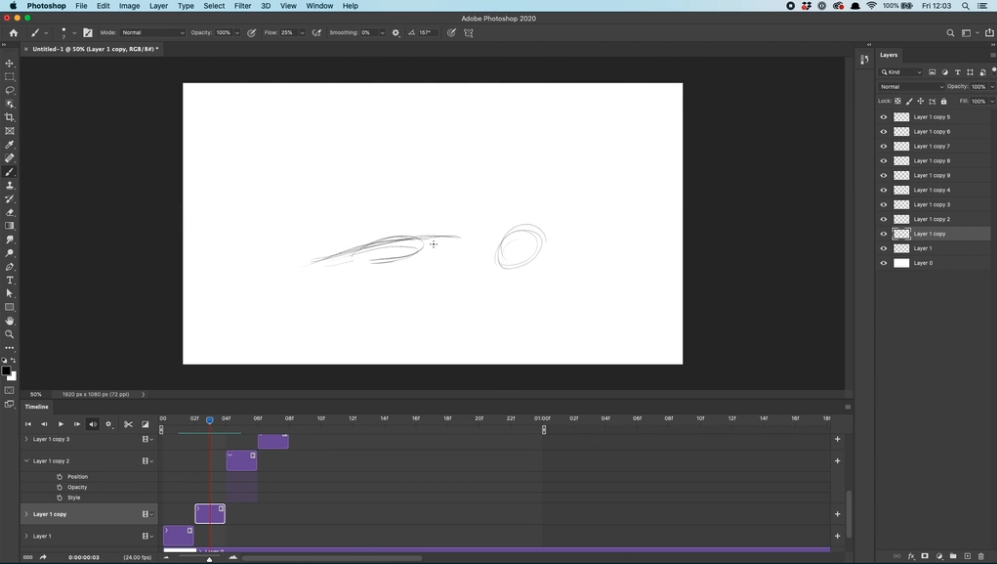 how to animate in photoshop