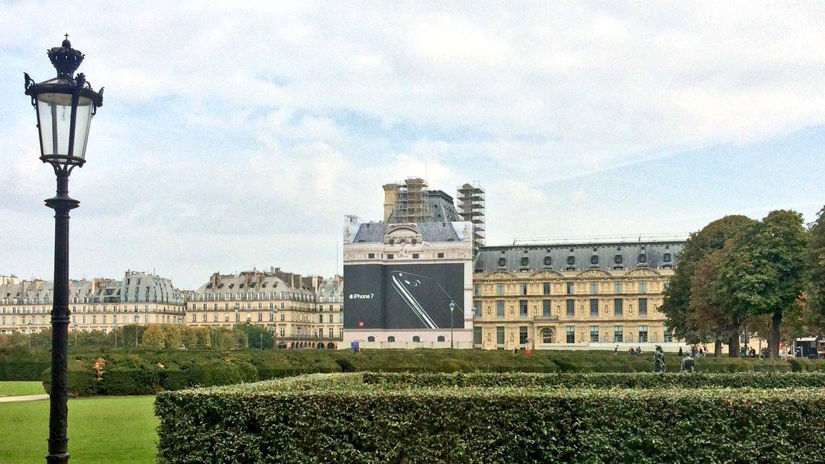 sppef bache-publicitaire-palais-du-louvre