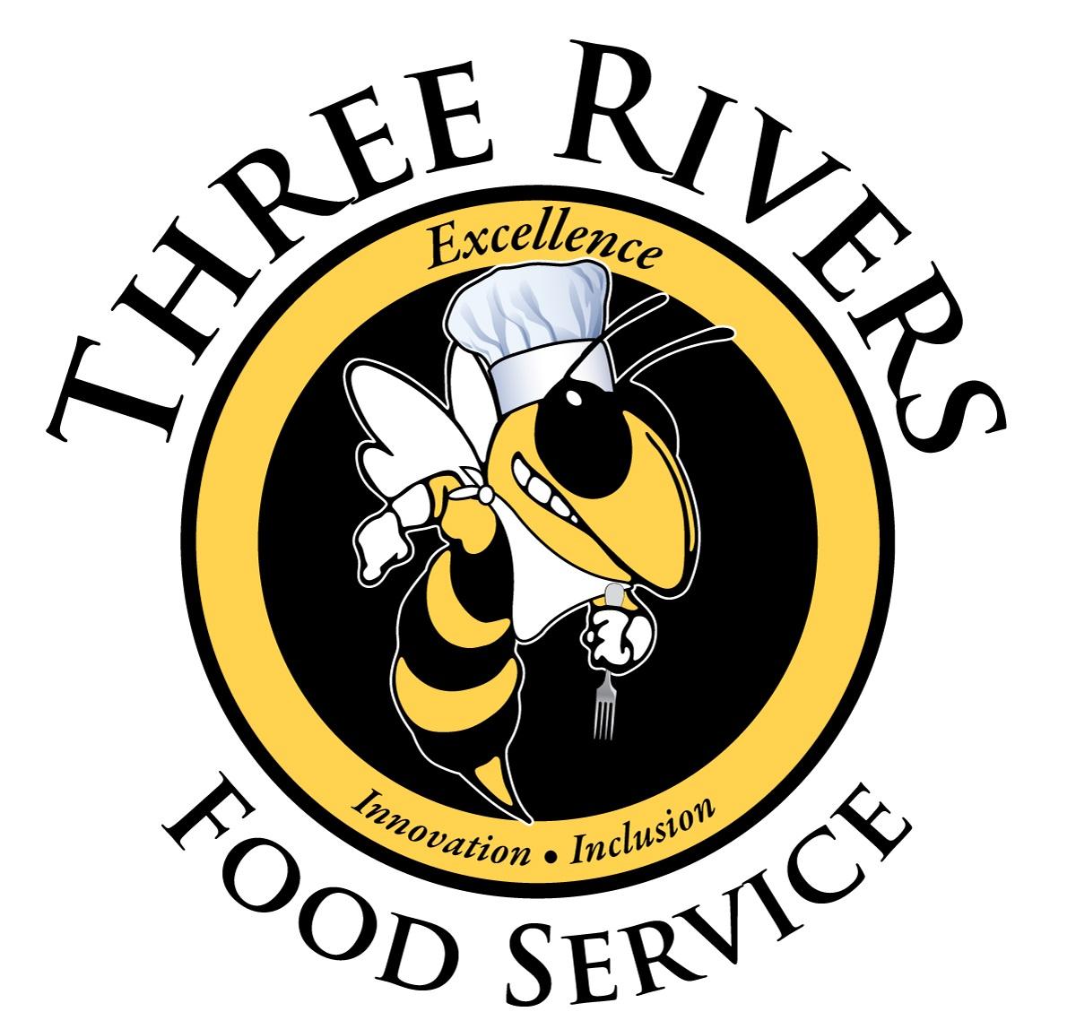 Three Rivers Food Service logo