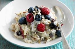 A warming fruity porridge