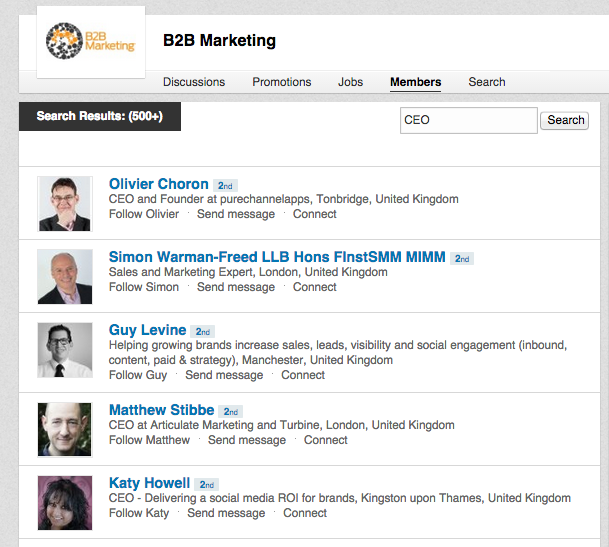 3 ways to use LinkedIn groups for B2B lead generation