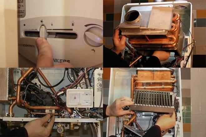 Чистка газовой колонки в домашних условиях - демонтируйте подводки