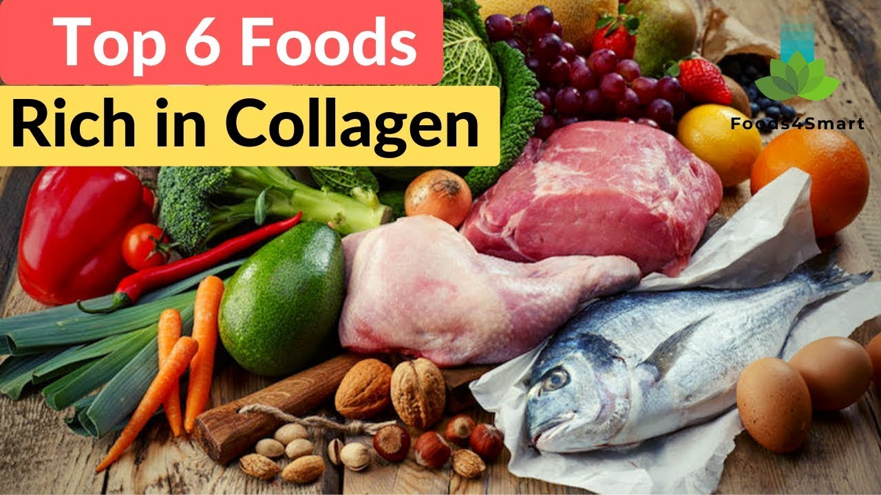 Fish, poultry, egg whites  are all high in collagen