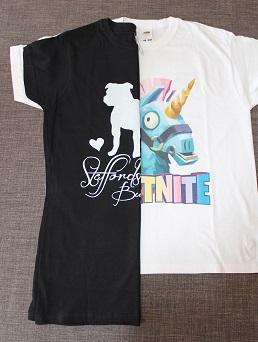 Sportinator - dětské a dámské sportovní tričko s potiskem