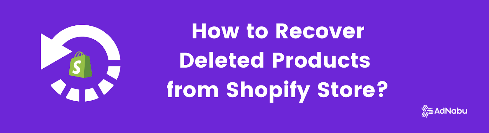 How to Recover Deleted Products from the Shopify Store