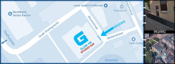 Ingang zit aan de Bouwstraat / Molenstraat.