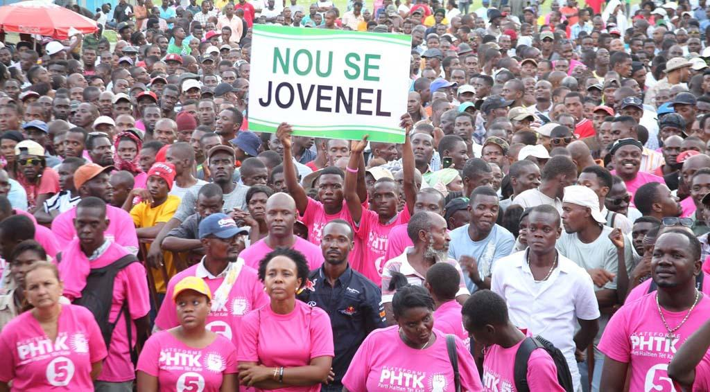 Image result for jovenel moise demonstrations photos