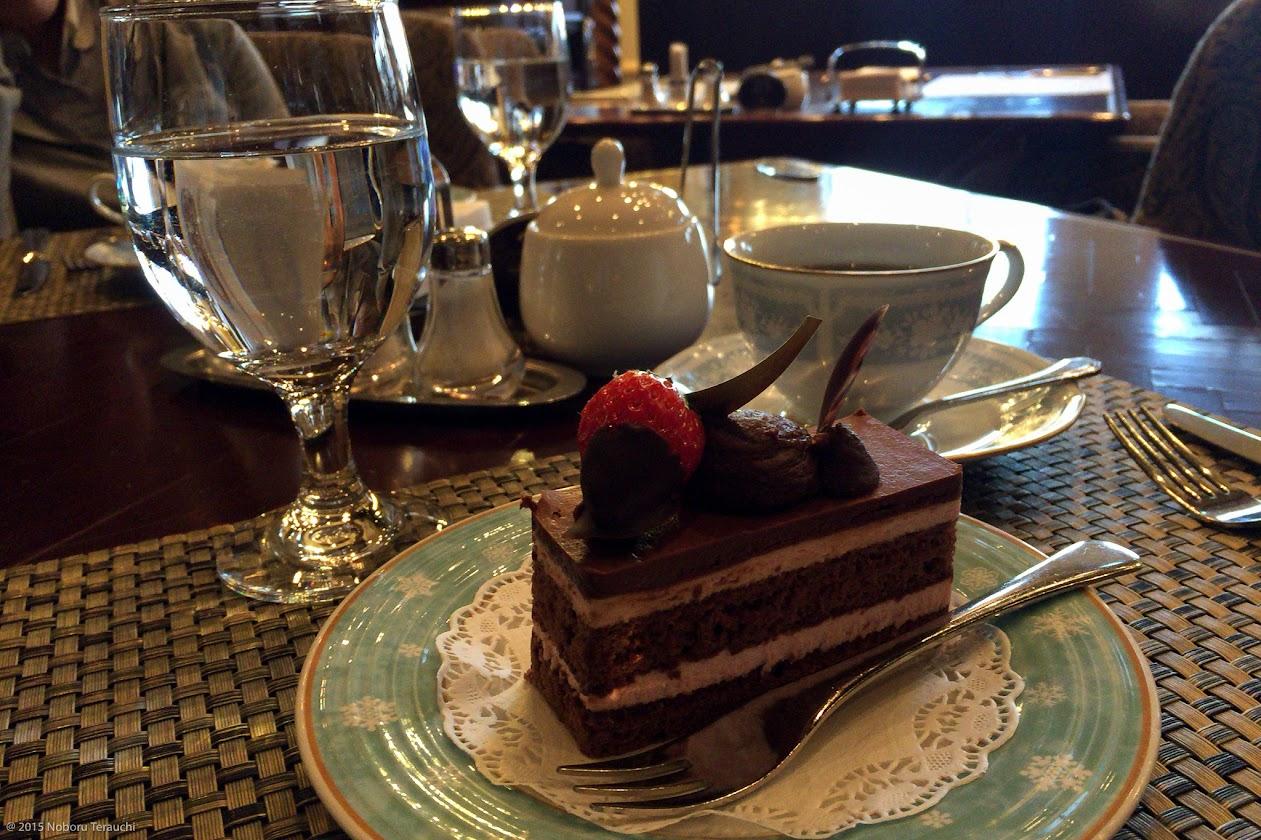ケーキセット・チョコレートケーキ&コーヒー